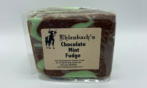 5-7oz. Fudge - Chocolate Mint