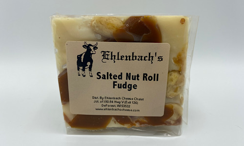 5-7oz. Fudge - Salted Nut Roll