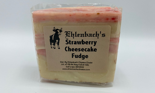 5-7oz. Fudge - Strawberry Cheesecake