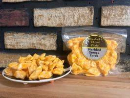 Cheddar Cheese Curds - 12 oz.  Marbled
