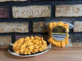 Cheddar Cheese Curds - 8 oz Smoked Yellow