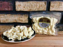 Cheddar Cheese Curds - 12 oz. White